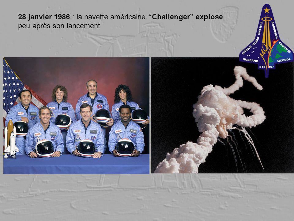 28 janvier 1986 : la navette américaine Challenger explose peu après son lancement