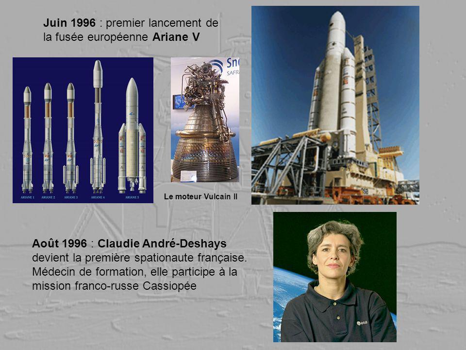 Juin 1996 : premier lancement de la fusée européenne Ariane V