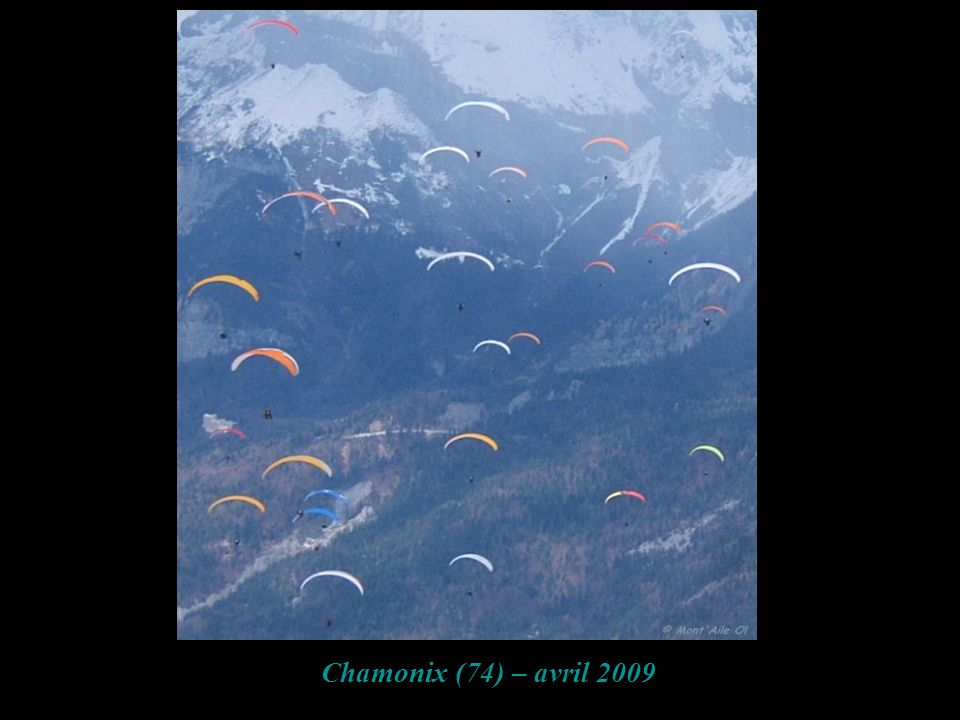 Chamonix (74) – avril 2009