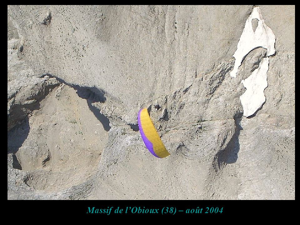 Massif de l'Obioux (38) – août 2004