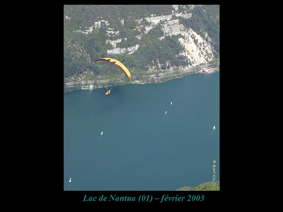 Lac de Nantua (01) – février 2003
