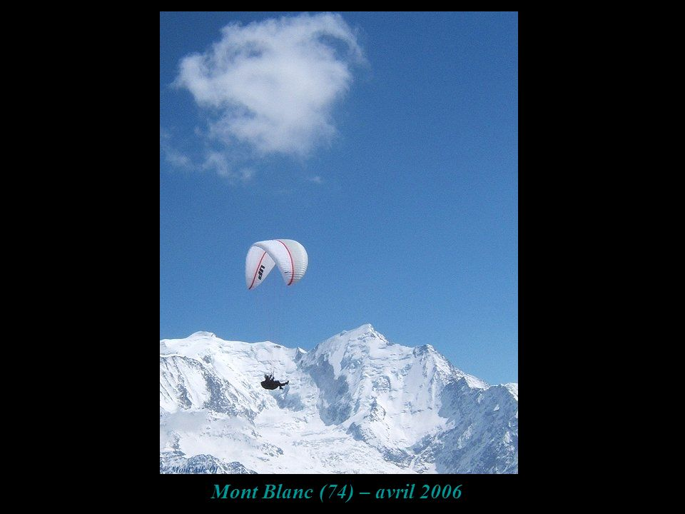 Mont Blanc (74) – avril 2006