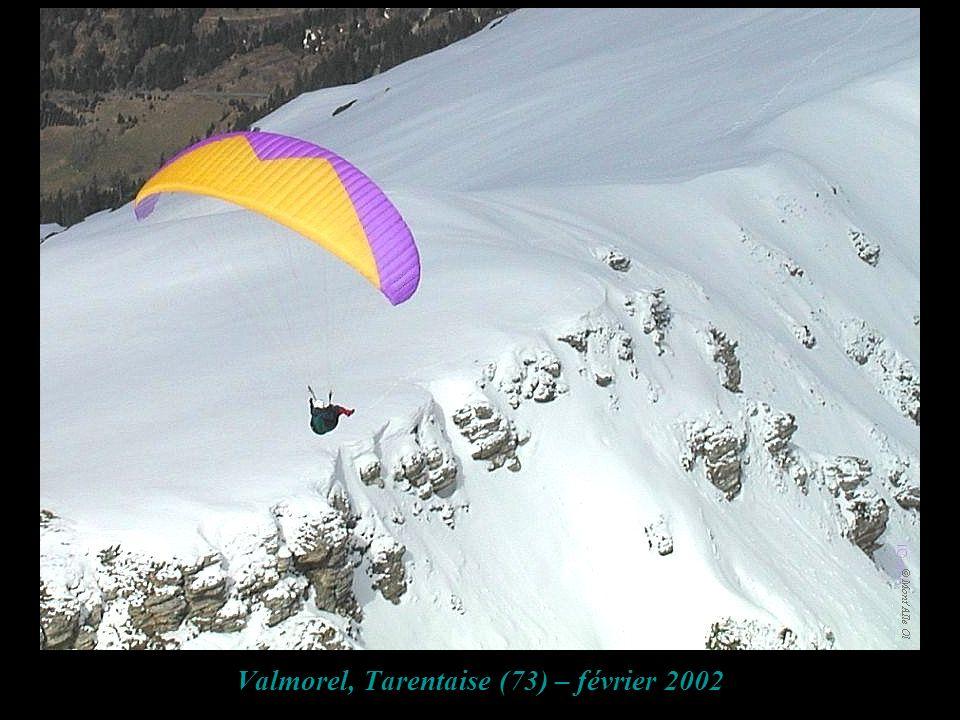 Valmorel, Tarentaise (73) – février 2002