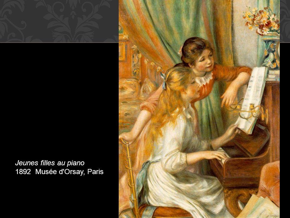 Jeunes filles au piano 1892 Musée d Orsay, Paris