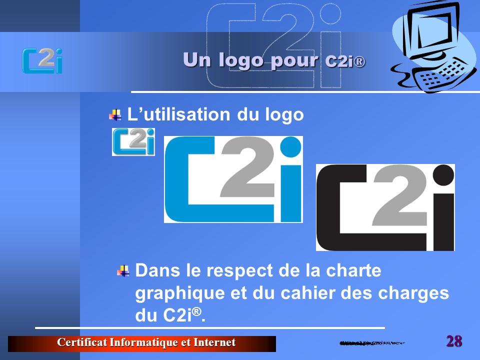 Un logo pour C2i® L'utilisation du logo