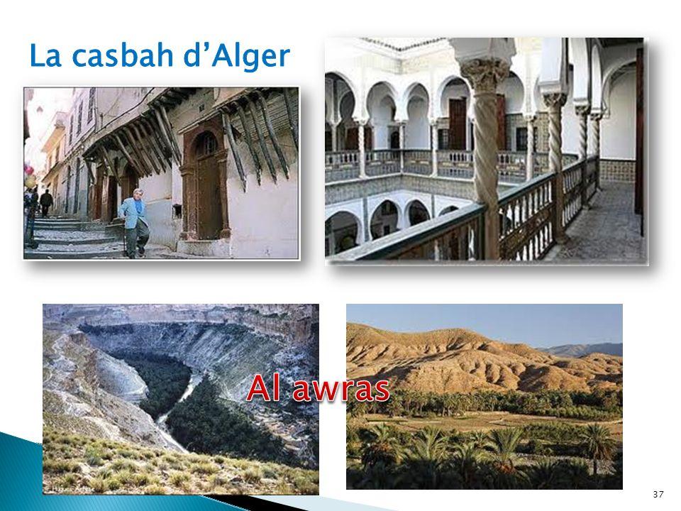La casbah d'Alger Al awras