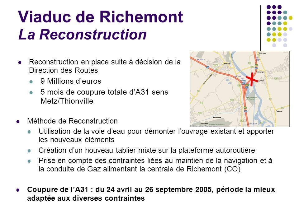 Viaduc de Richemont La Reconstruction