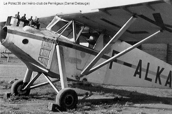 Le Potez 36 de l'Aéro-club de Perrégaux (Daniel Debauge)