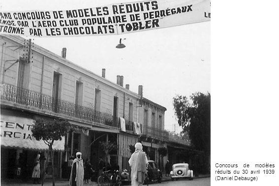 Concours de modèles réduits du 30 avril 1939 (Daniel Debauge)