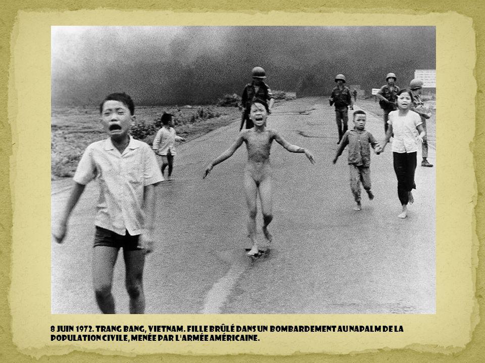 8 Juin 1972. Trang Bang, Vietnam