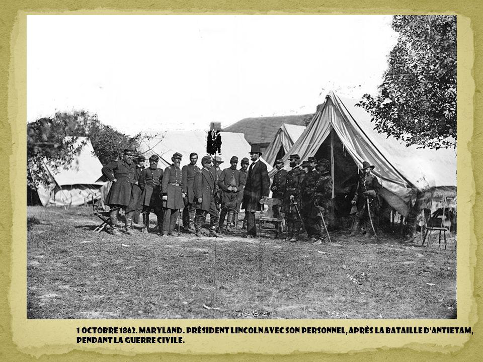 1 octobre 1862. Maryland.
