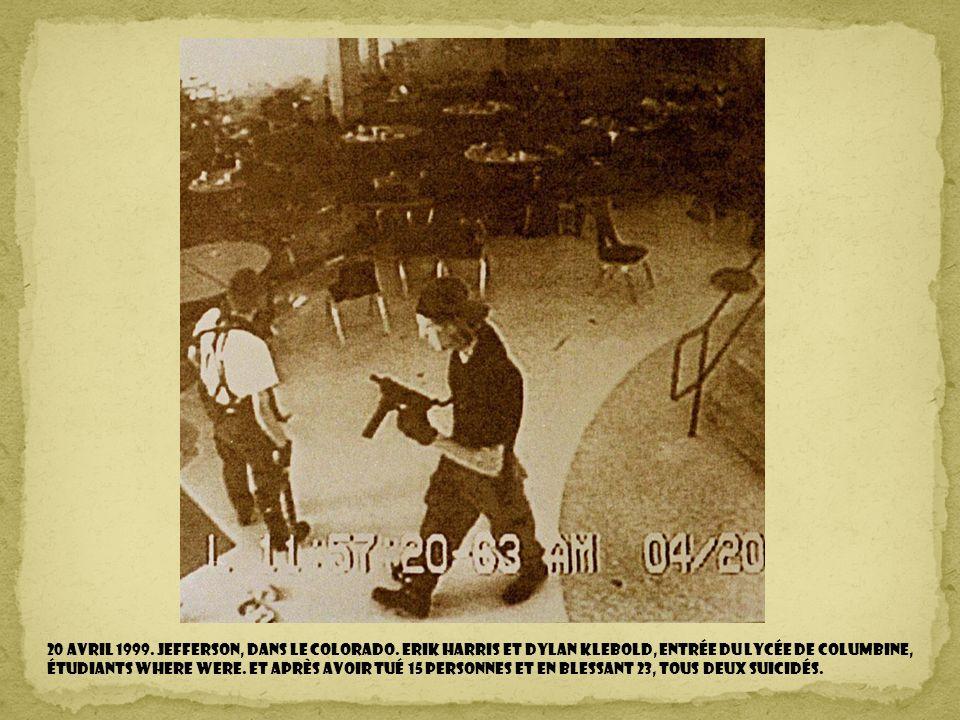 20 avril 1999. Jefferson, dans le Colorado