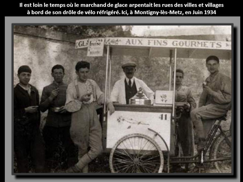 Il est loin le temps où le marchand de glace arpentait les rues des villes et villages