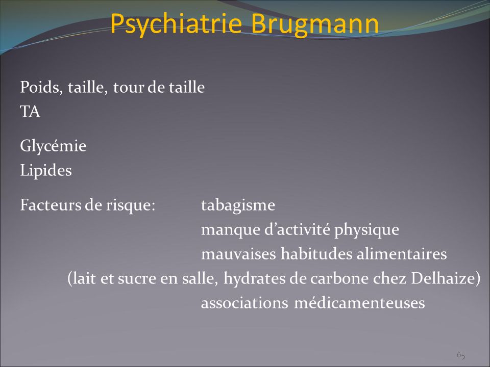 Psychiatrie Brugmann