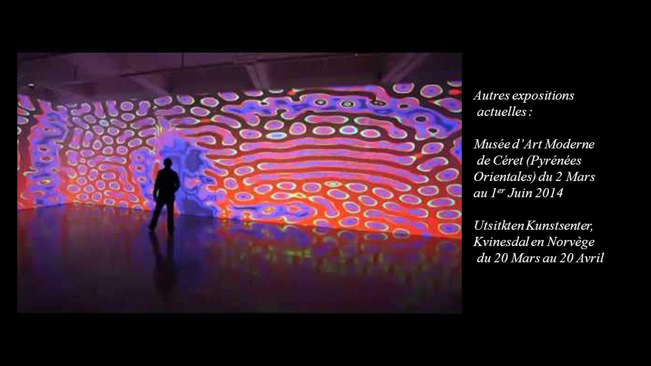 Autres expositions actuelles : Musée d'Art Moderne. de Céret (Pyrénées Orientales) du 2 Mars au 1er Juin 2014.