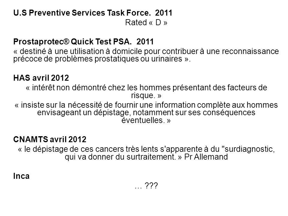 U.S Preventive Services Task Force. 2011