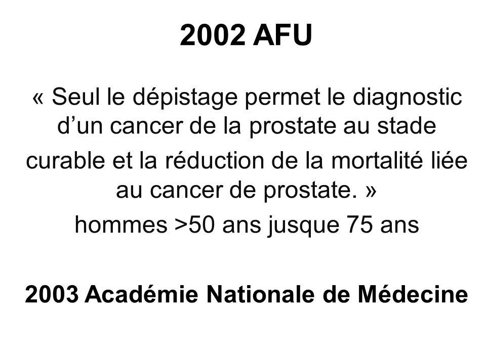 2003 Académie Nationale de Médecine