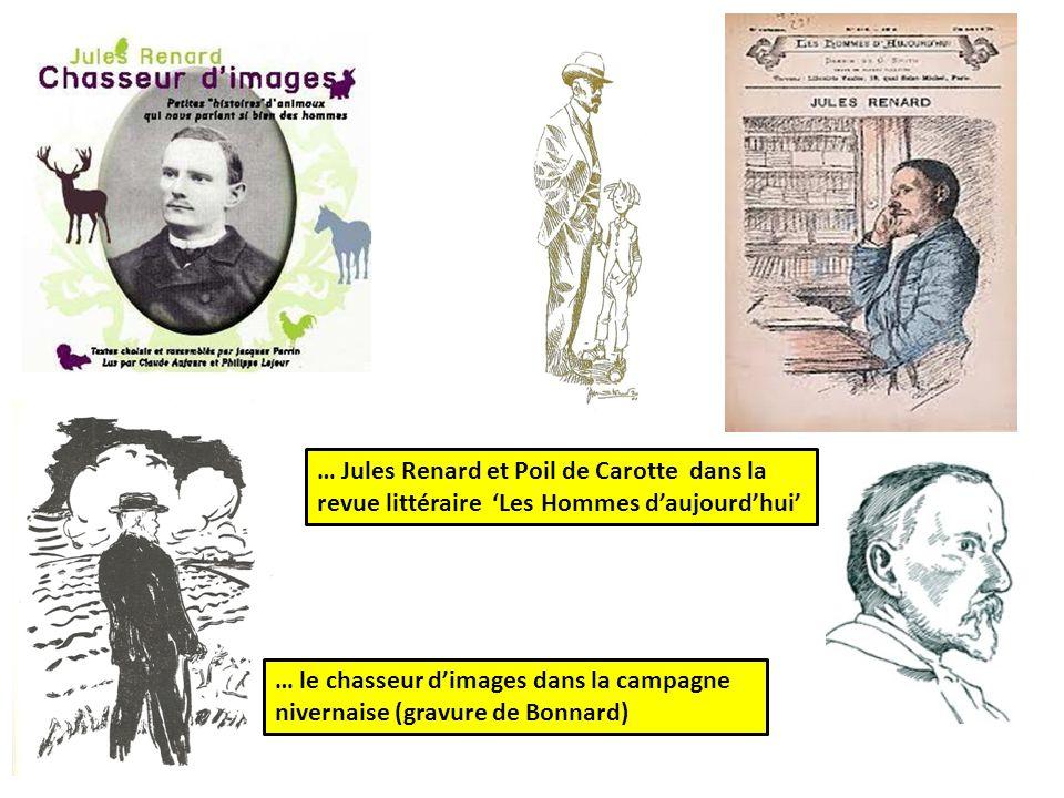 … Jules Renard et Poil de Carotte dans la revue littéraire 'Les Hommes d'aujourd'hui'