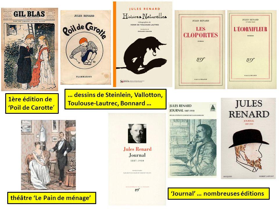 … dessins de Steinlein, Vallotton, Toulouse-Lautrec, Bonnard …