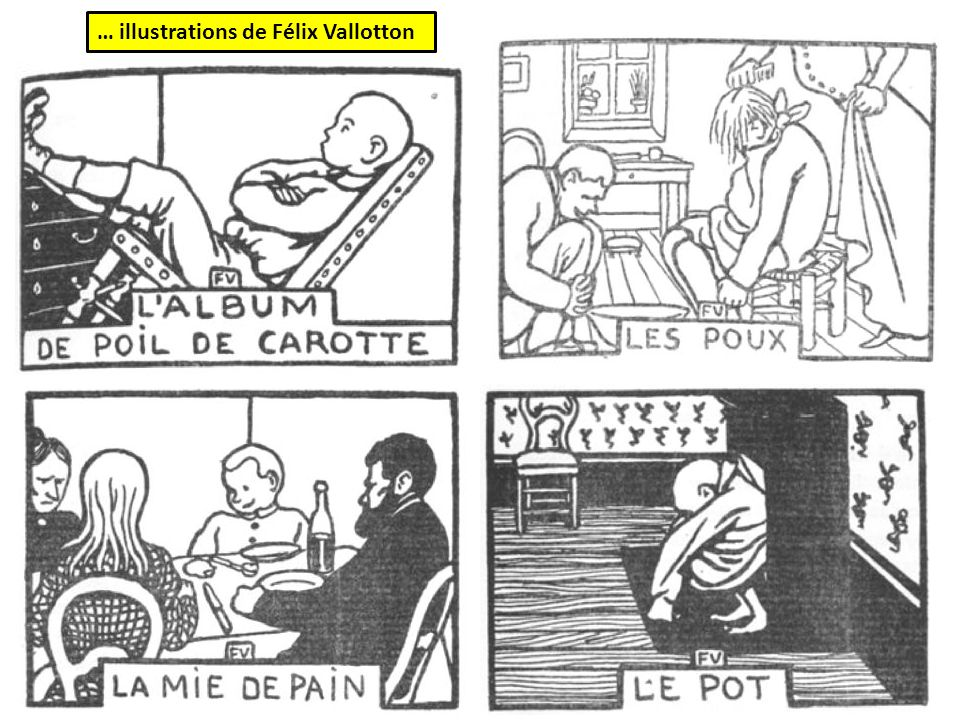 … illustrations de Félix Vallotton