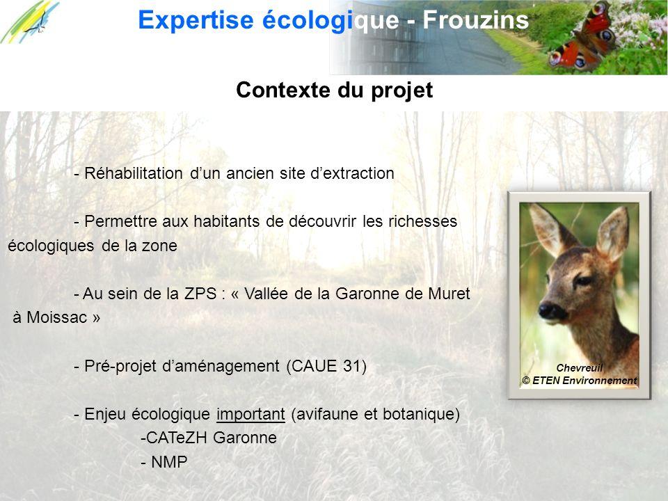 Expertise écologique - Frouzins