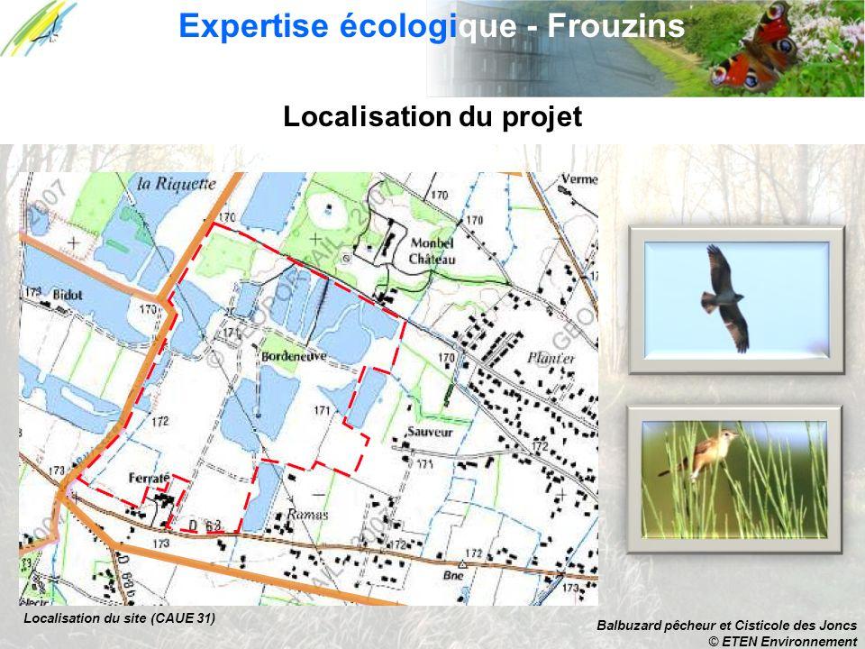 Expertise écologique - Frouzins Localisation du projet