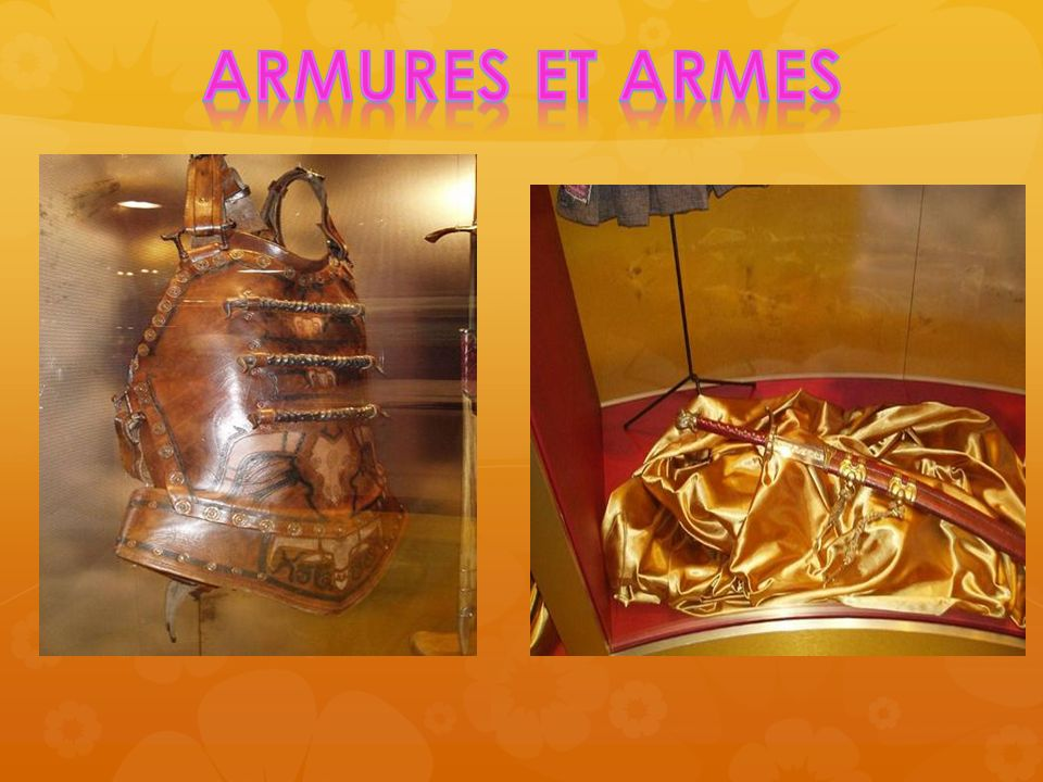 Armures et armes