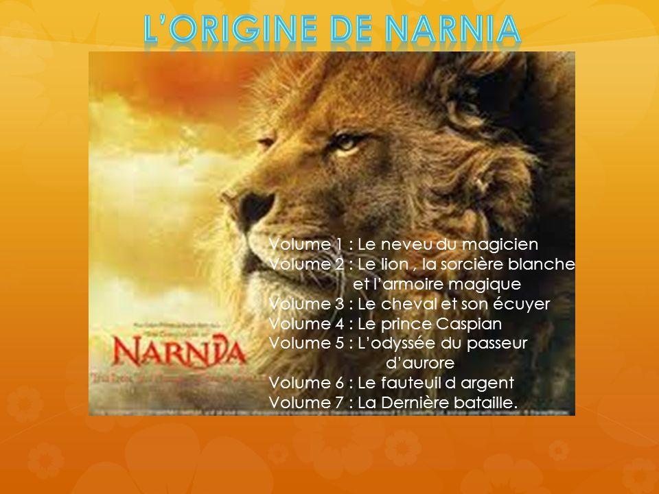L'ORIGINE DE NARNIA Volume 1 : Le neveu du magicien