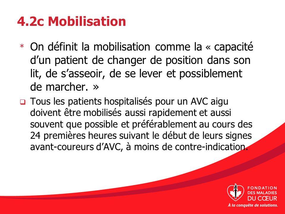4.2c Mobilisation