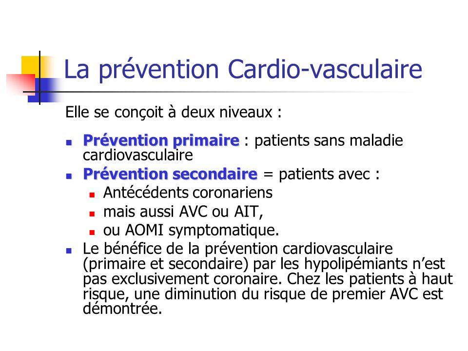 La prévention Cardio-vasculaire