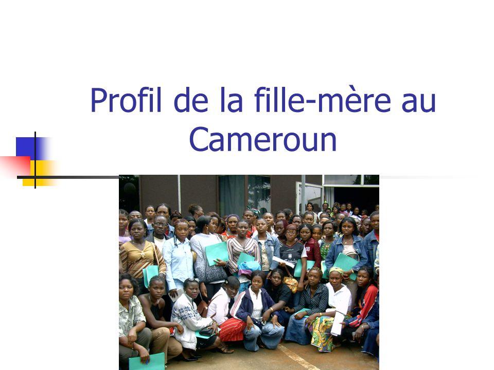 Profil de la fille-mère au Cameroun