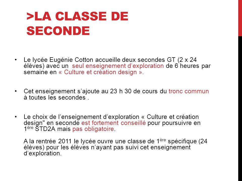 >La classe de seconde