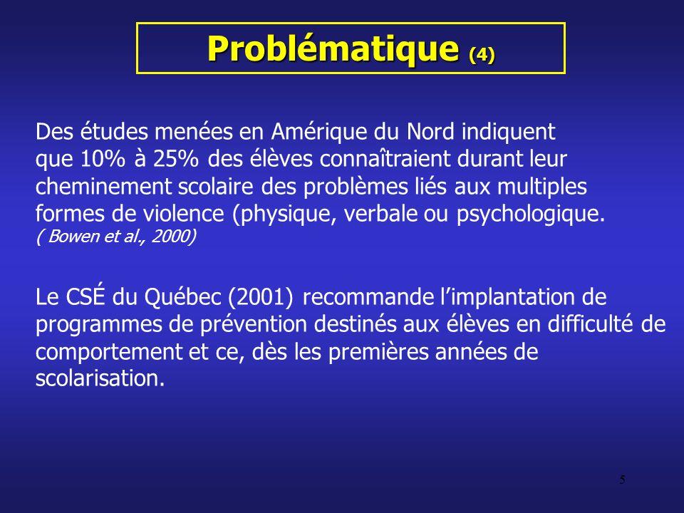 Problématique (4)