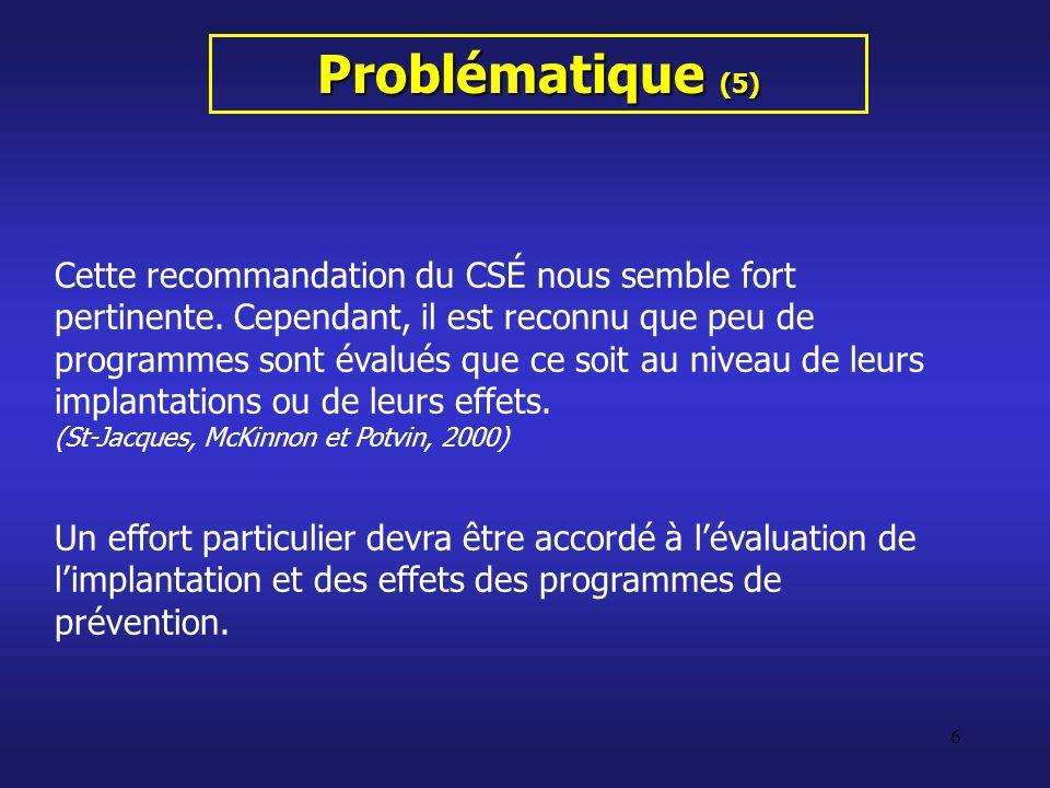 Problématique (5)