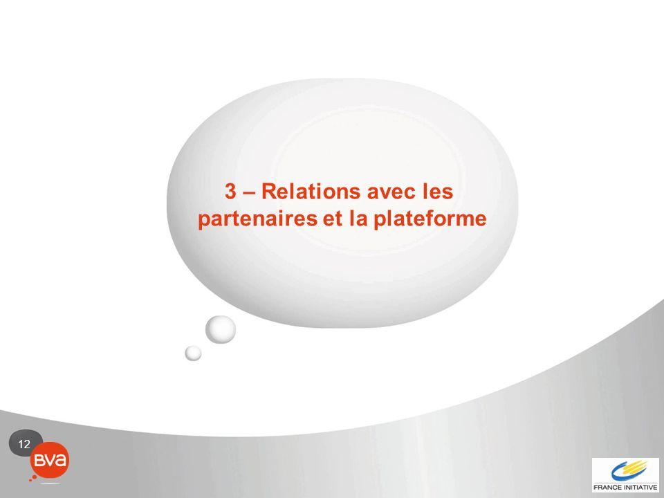partenaires et la plateforme
