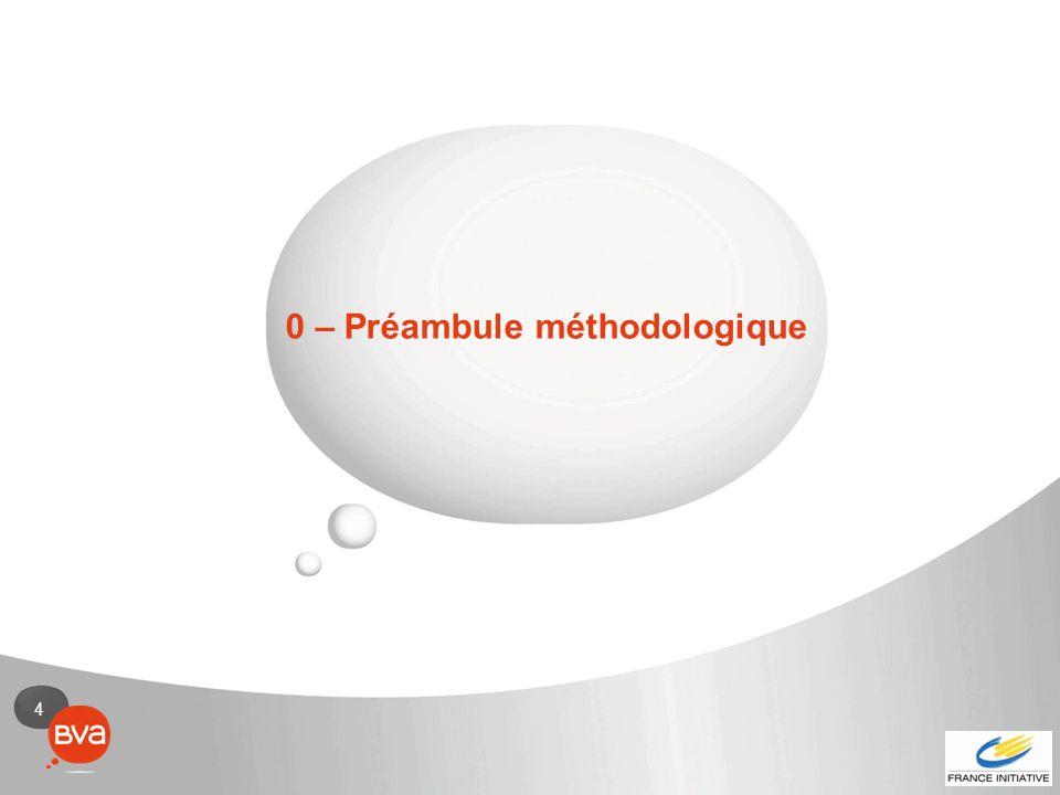 0 – Préambule méthodologique
