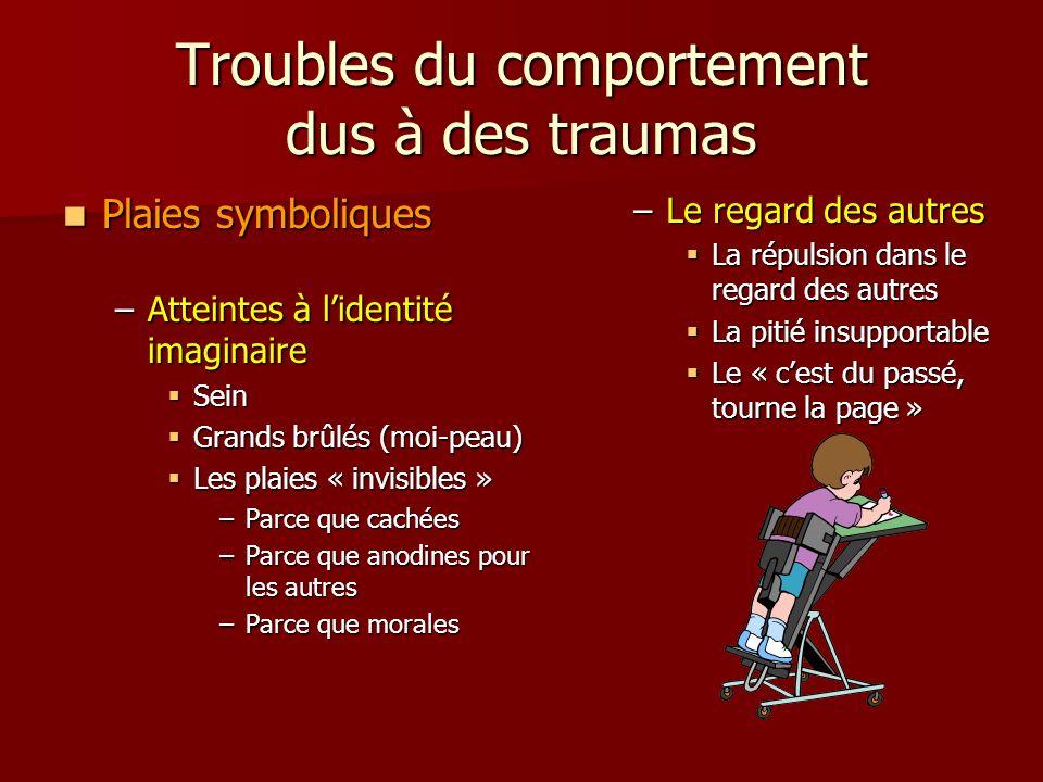 Troubles du comportement dus à des traumas