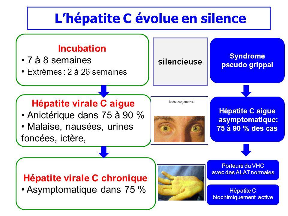 L'hépatite C évolue en silence