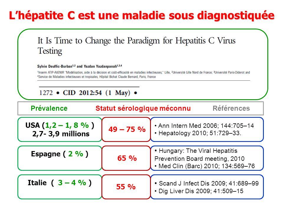 L'hépatite C est une maladie sous diagnostiquée