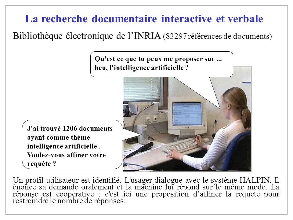 La recherche documentaire interactive et verbale