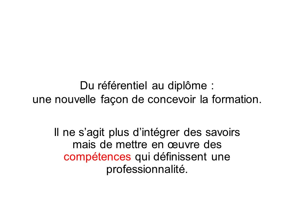 de la profession  u00e0 la certification  comment se construit un dipl u00f4me