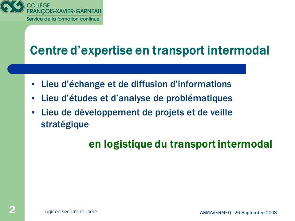 Centre d'expertise en transport intermodal