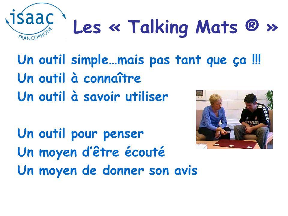 Les « Talking Mats ® » Un outil simple…mais pas tant que ça !!!