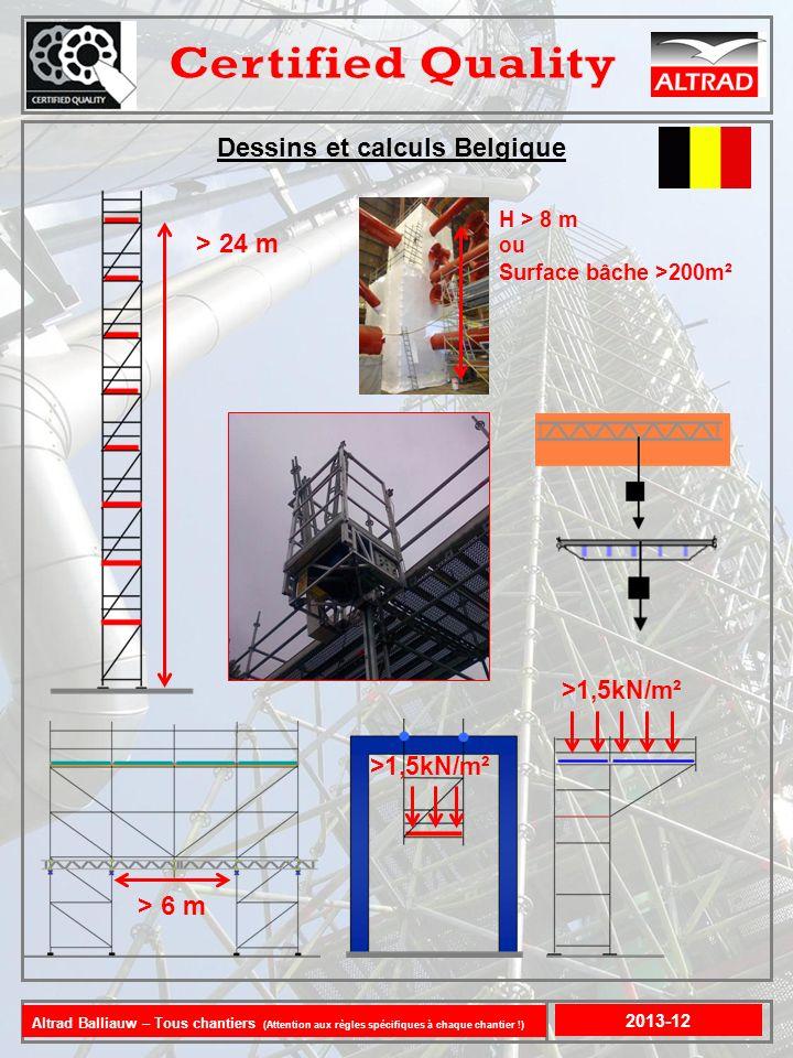 Dessins et calculs Belgique