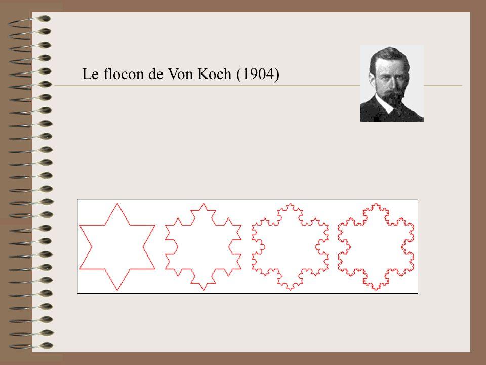 Le flocon de Von Koch (1904)