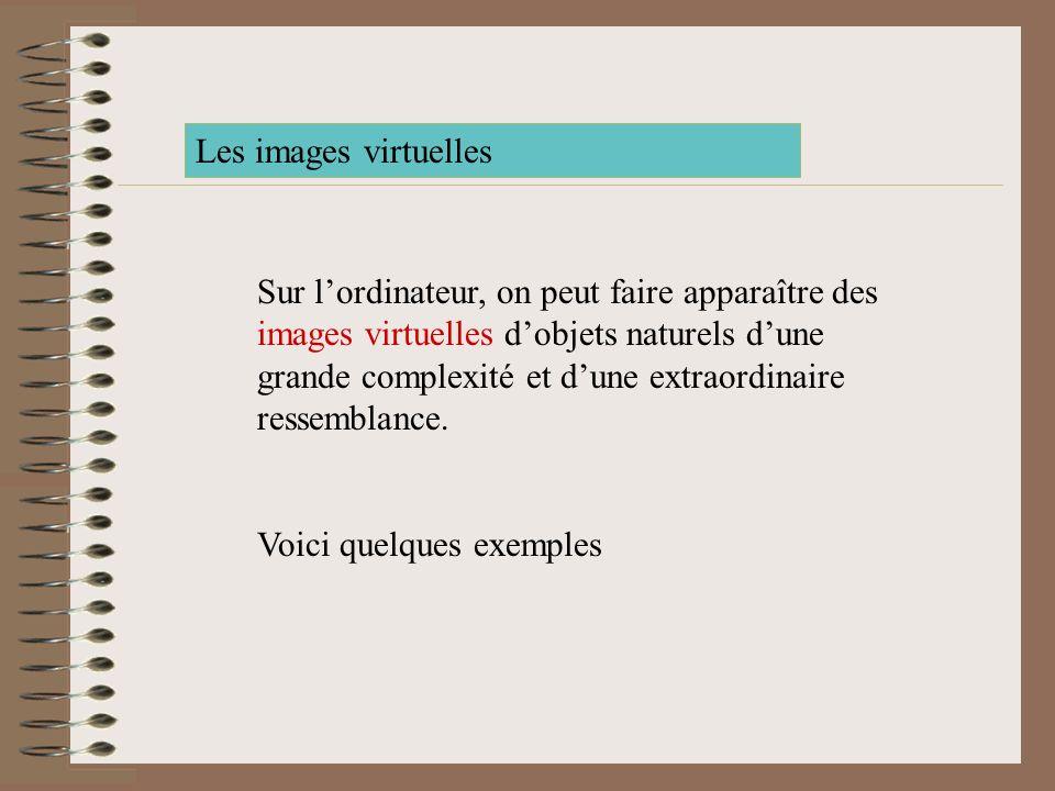 Les images virtuelles