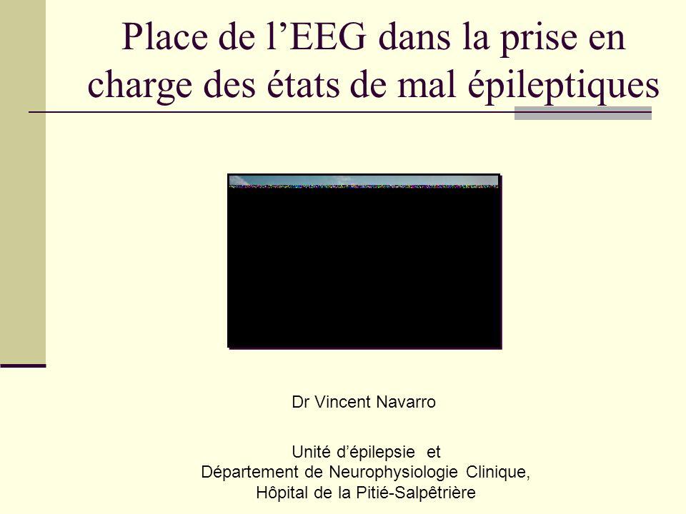 Place de l'EEG dans la prise en charge des états de mal épileptiques