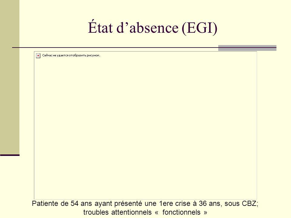 État d'absence (EGI)