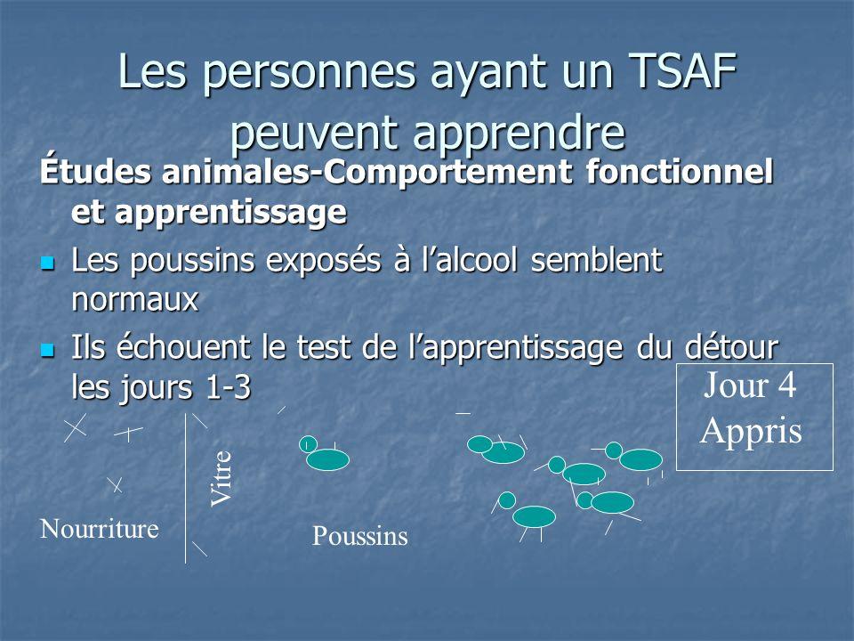 Les personnes ayant un TSAF peuvent apprendre
