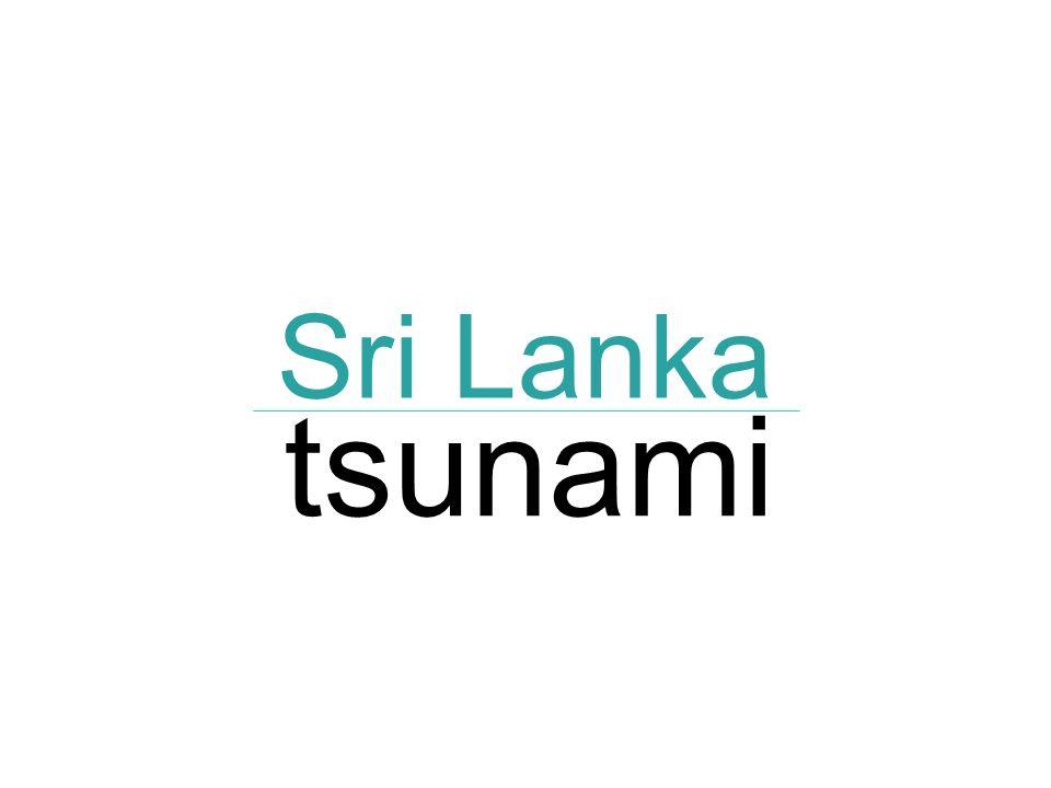 Sri Lanka tsunami